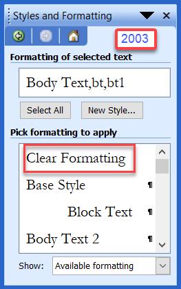Understanding Styles in Microsoft Word - A Tutorial in the