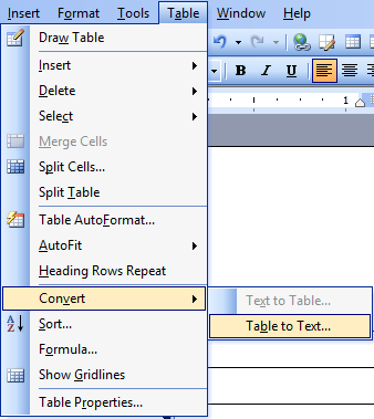 Using Tables For Organizing And Formatting In Microsoft Word