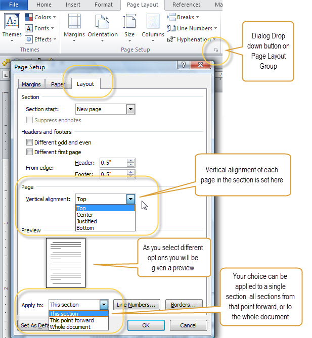Text Justification And Alignment In Microsoft Word Intermediate