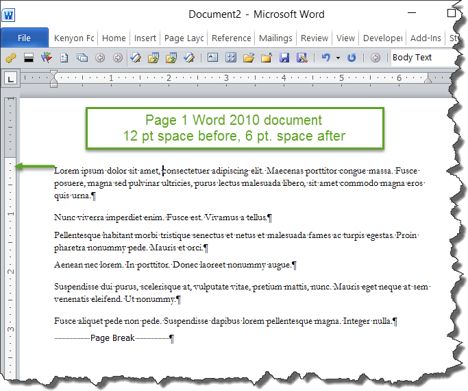Microsoft Word Letter Spacing.Understanding Styles In Microsoft Word A Tutorial In The