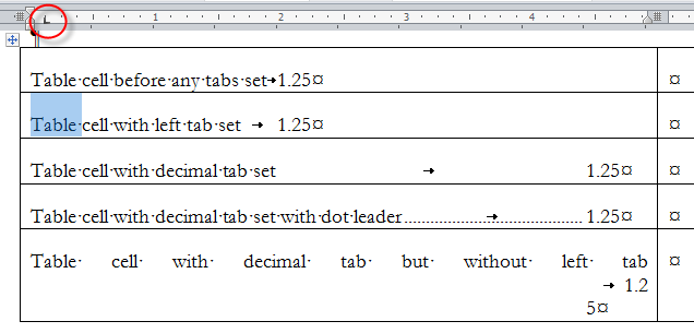 Using tables for organizing and formatting in microsoft word ibookread ePUb