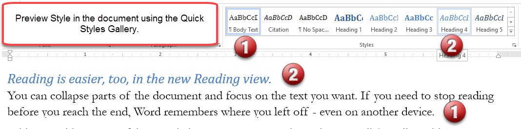 understanding styles in microsoft word a tutorial in the