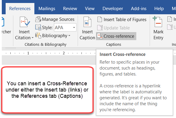 Using Fields in Microsoft Word - a Tutorial in the