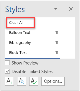 Understanding Styles in Microsoft Word - A Tutorial in the