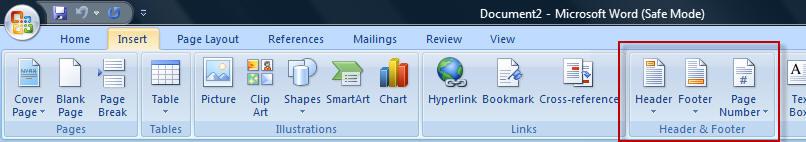 Microsoft Word 2007 Problems?