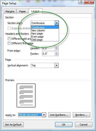 sections headers and footers in microsoft word a tutorial in the