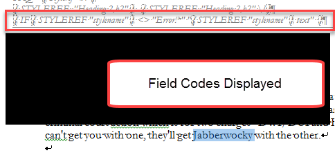 Using Fields In Microsoft Word A Tutorial In The Intermediate
