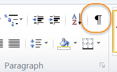 View Options In Word 2003