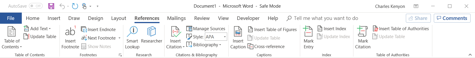 The Ribbons Of Microsoft Word 2007 2019
